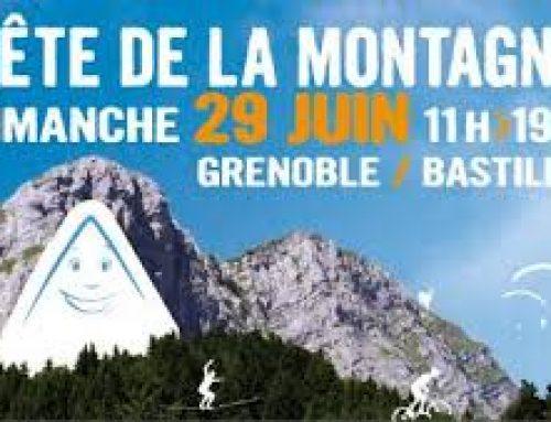 Exposition à l'occasion de la Fête de la Montagne 2014 à Grenoble