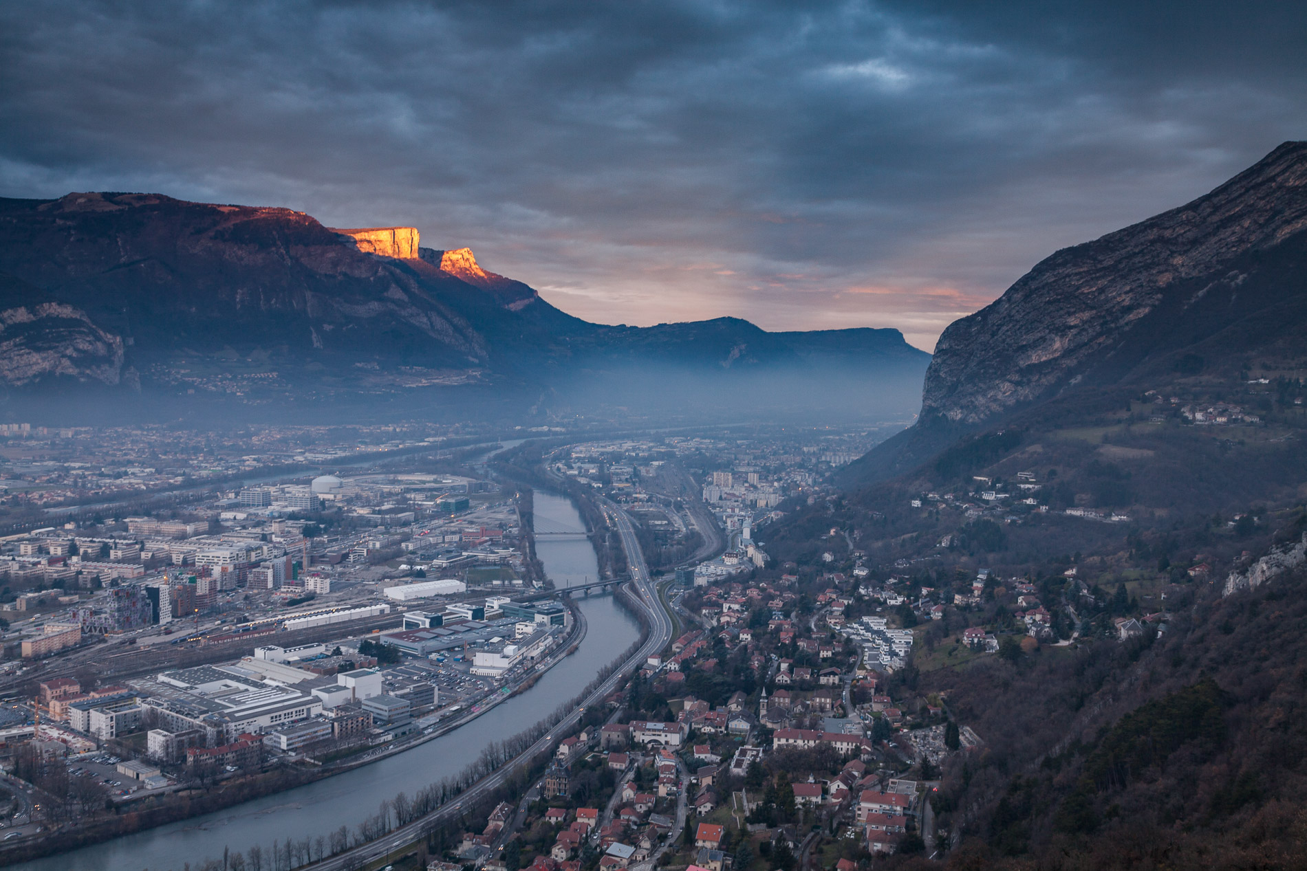 Nord de la métropole de Grenoble