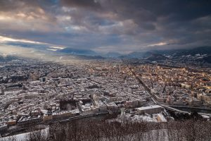 Grenoble sous la neige