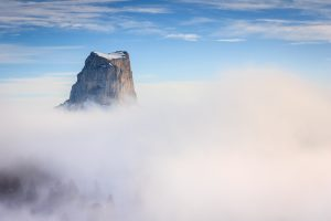 Mont Aiguille depuis le Pas de l'Aiguille
