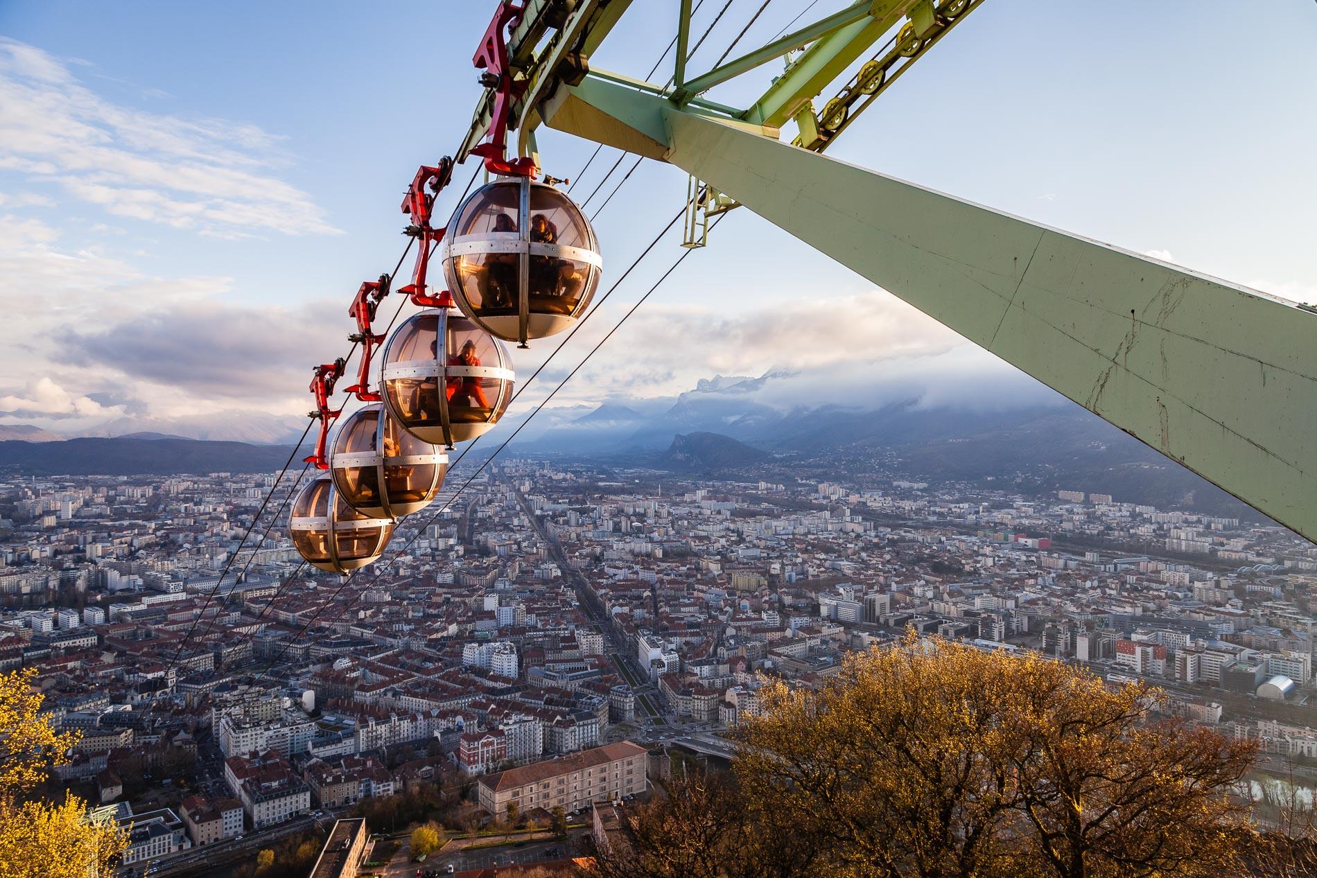 Téléphérique de la Bastille à Grenoble