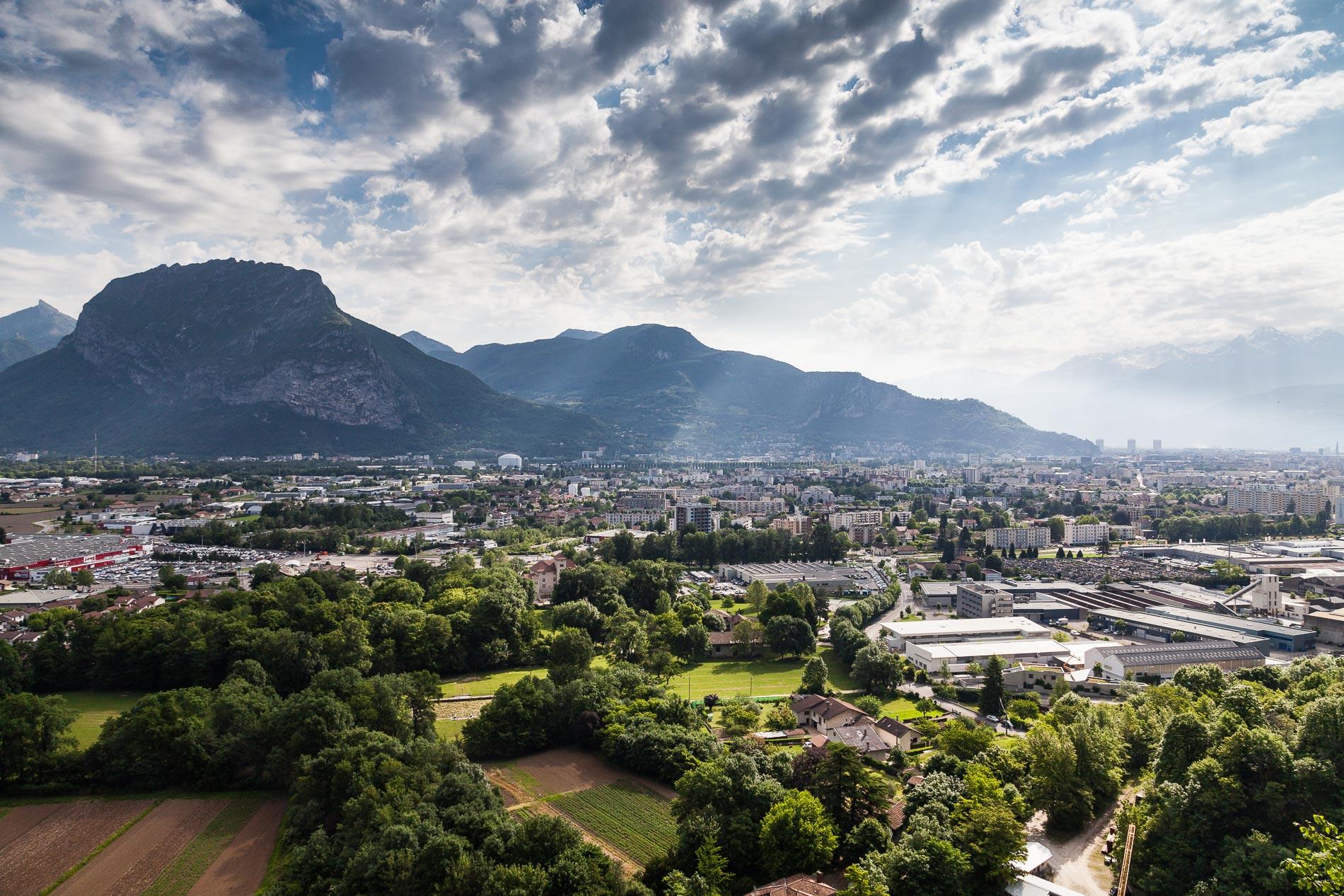 Nord de la métropole de Grenoble et le Néron