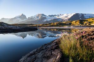 Depuis les berges du lac Noir (plateau d'Emparis)