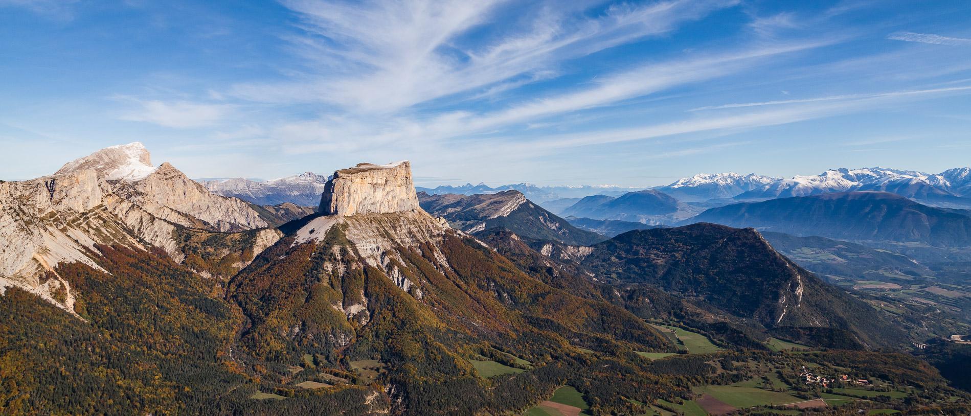 Panorama depuis la Tête Chevalière
