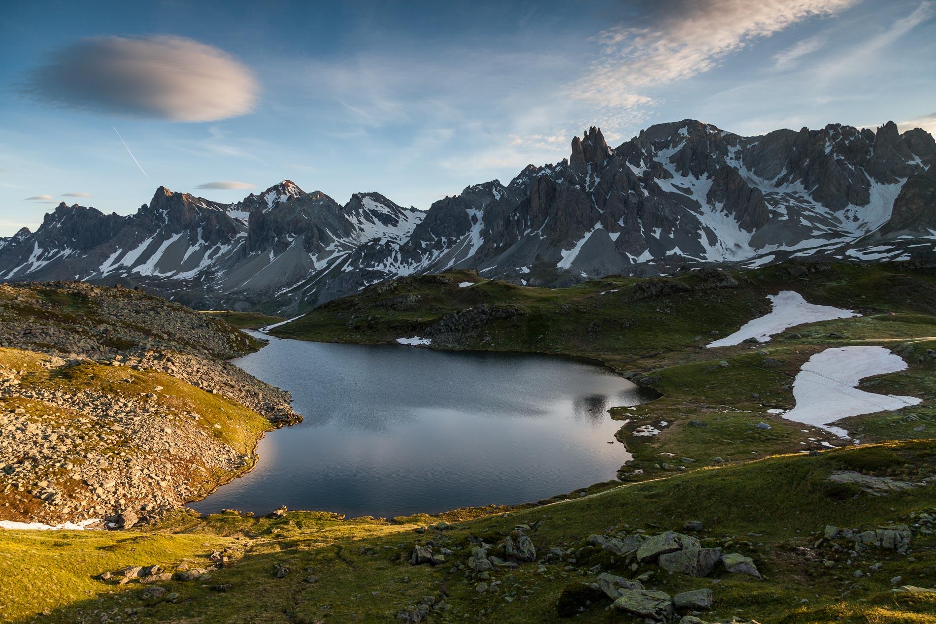 Lac Long dans la Clarée (Hautes-Alpes)
