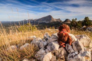 Kiki sur les hauts plateaux du Vercors