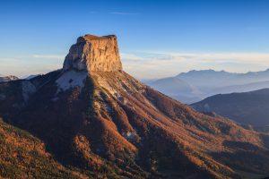 Mont Aiguille depuis la Tête Chevalière