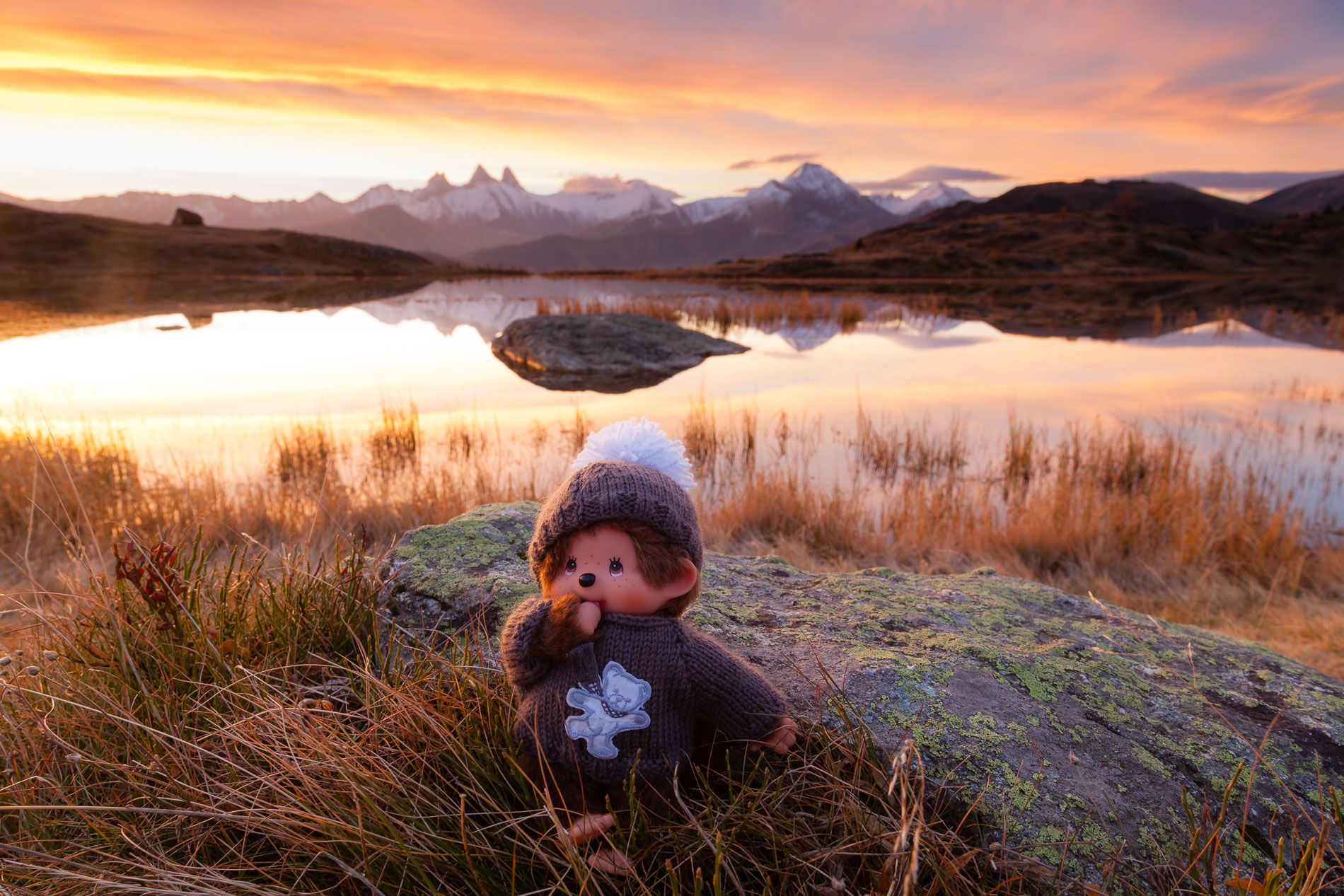 Kiki au bord du lac Guichard