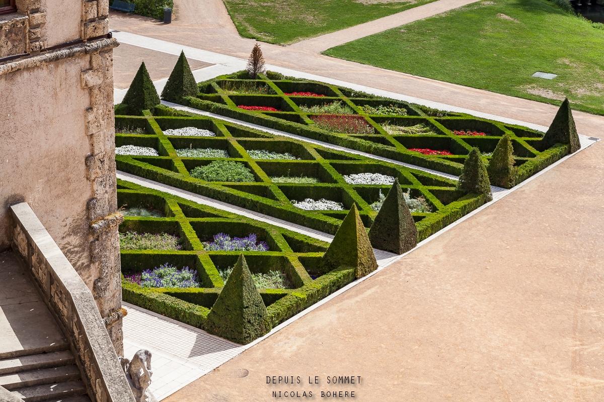 Jardin du château de Vizille