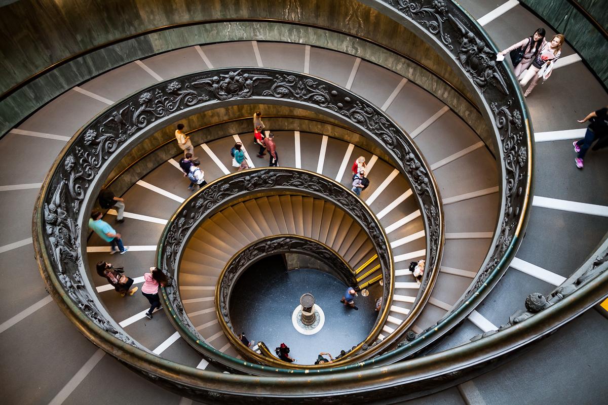 Escalier de Bramante - Vatican